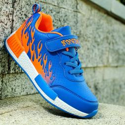 Fashion 2018 Running Shoes for Boys Kid Sports Athelic PU Le