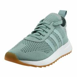 adidas Flashback Primeknit Running Shoes - Green - Womens