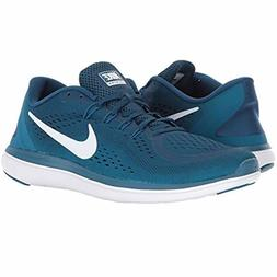 Nike Flex Run 2017 men's Running Shoes Sneaker Blue Force Wh
