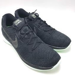 Nike Flyknit Lunar 3 LB Men's Running Shoes Black/Green 8268