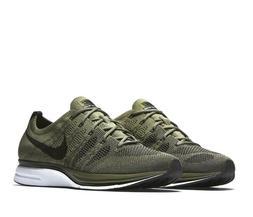 Nike Flyknit Trainer Mens Running Shoes 9 Medium Olive Black