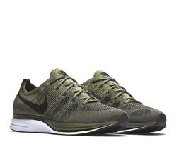 Nike Flyknit Trainer Mens Running Shoes Medium Olive Black