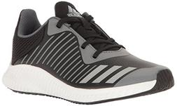 adidas Kids' Fortarun,BLACK/METALLIC SILVER/ONIX,12 Medium U