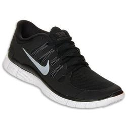 Nike Free 5.0 Womens Size Running Shoes Black White Silver S