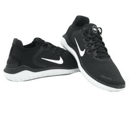 Nike Free RN 2018 Running Shoes Black White 942836-001 Men's