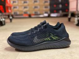 Nike Free RN Flyknit 2018 Mens Running Shoes Black Anthracit