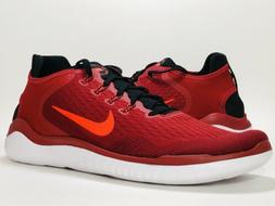 Nike Free Run 2018 RN Running Shoes Mens Size 14 Gym Red Bri