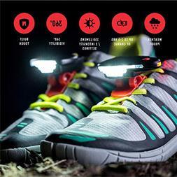 Night Runner 270 Night Gear Lights for Running Shoes, 1 Pair