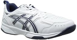 ASICS Men's GEL-Acclaim Training Shoe, White/Navy/Silver, 11