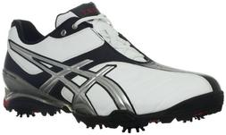 ASICS Men's Gel-Ace Tour 3 Golf Shoe,White/Silver/Black,11 M