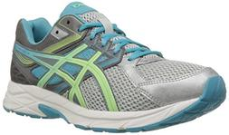 ASICS Women's Gel-contend 3 Running Shoe, Silver/Pistachio/T