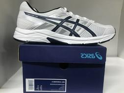 ASICS GEL-Contend 4 Running Shoes White/Indigo Blue/Silver M