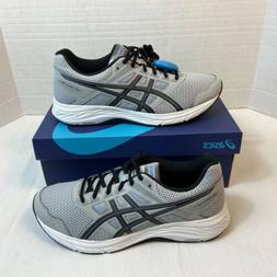 Asics Gel-Contend 5 Running Shoes Mid Grey/Black Men's Size