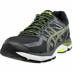 gel glyde casual running shoes black mens
