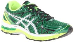 ASICS Gel-Kayano 20 GS Running Shoe,Pine/Lightning/White,5 M