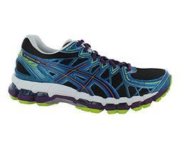Asics Gel-Kayano 20 Running Shoe - Women's Black/Plum/Blue,