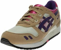 ASICS GEL-Lyte III Running Shoes - Purple;White - Mens