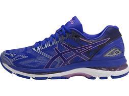 ASICS GEL-Nimbus 19 Women's Running Shoes T750N-4832 Blue/Pu