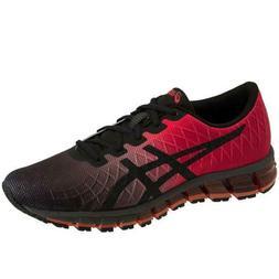 ASICS Gel-Quantum 180 4 Black Red Running Shoes Men Size 9 N