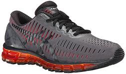 ASICS Men's Gel Quantum 360 Running Shoe, Carbon/Black/Orang