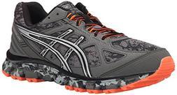 ASICS Men's Gel Scram 2 Running Shoe, Gunmetal/Silver/Hot Or