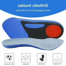 Gel Shock Absorption Insoles For Sport Running Shoe Pad Arch