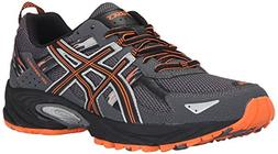 ASICS Men's Gel-Venture 5-M, Carbon/Black/Hot Orange 12 M US