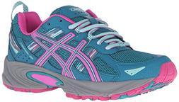 ASICS Women's Gel-Venture 5 Trail Runner, Ocean Depth/Pink G
