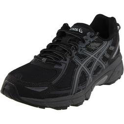 ASICS GEL-Venture 6 Trail Running Shoes - Black - Mens