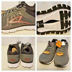 Geofoam Champion Mens Sz 8 Gray Running Shoe Lightweight Lea