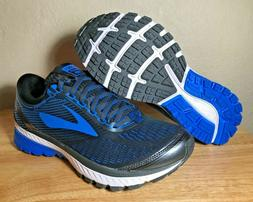 Brooks Ghost 10 DNA Running Shoes Ebony Charcoal Electric Bl