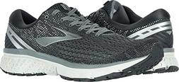 Brooks Men's Ghost 11 Ebony/Grey/Silver 8.5 EE US