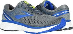 Brooks Men's Ghost 11 Grey/Blue/Silver 9.5 D US