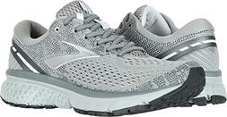 Brooks Women's Ghost 11 Grey/Silver/White 8.5 B US