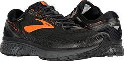 Brooks Men's Ghost 11 GTX Black/Orange/Ebony 10.5 D US