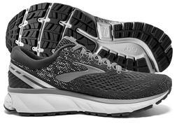 Brooks Ghost 11 Mens Running Shoe Ebony/Grey/Silver multiple