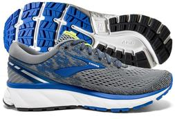 Brooks Ghost 11 Mens Running Shoe Grey/Blue/Silver multiple