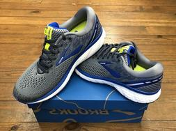 Brooks Ghost 11 Mens Running Shoes Grey/Blue/Silver multiple