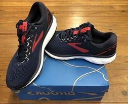Brooks Ghost 11 Mens Running Shoes Navy/Red/White multiple s