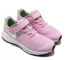 Girl's Toddler Nike Star Runner  Running shoe Pink Rise/WHT