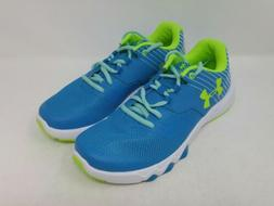 Under Armour Girls Blue Shift Primed 2 Running Shoes Size 6Y