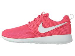Nike Girls Roshe One Big Kids 599729-609 Hyper Pink Mesh Run