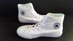 Girls Size 12 White Hi Top Sneakers CONVERSE CTAS II HI 3501