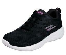 Skechers GoRun 600 Women's Athletic Shoes Black Running Snea
