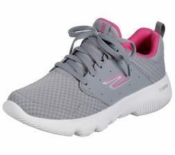 Skechers Gray Pink shoes Women's Sport Go Run Athletic Mesh