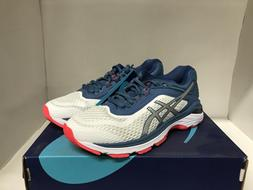 Asics GT-2000 6 Women Running Shoes White/Azure Size 8