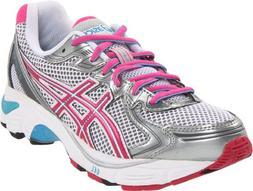 ASICS GT 2170 GS Running Shoe ,White/Electric Pink/Tahiti,7