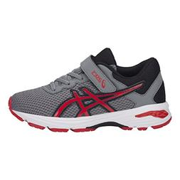 ASICS Kids Baby Boy's GT-1000 6 PS  Stone Grey/Classic Red/B