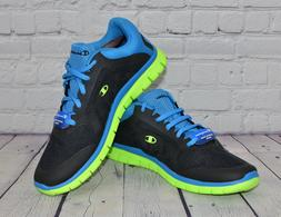 18b84540a Champion Gusto Men Running Shoes Sneakers Black Blue New Siz