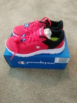 Champion Gusto XT II RUNNING TRAINING SHOES RED Black Mens N
